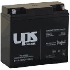 UPS Power zselés akkumulátor 12V-18Ah