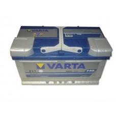 Autó akkumulátor Varta Blue Dynamic 12V-80Ah jobb+ 580406