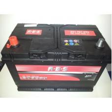 Autó akkumulátor A.B.S Asia 12V-91Ah bal+ 591701