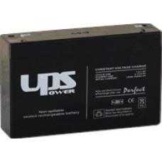 UPS Power zselés akkumulátor 6V 12Ah