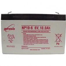 Genesis zselés akkumulátor 6V 10Ah NP10-6NFR