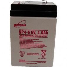 Genesis zselés akkumulátor 6V 4Ah NP4-6NFR