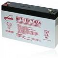 Genesis zselés akkumulátor 6V 7Ah NP7-6NFR