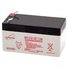 Genesis zselés akkumulátor 12 V 1,2 Ah NP1,2-12