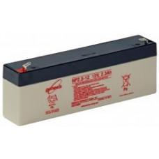 Genesis zselés akkumulátor 12V 2,3Ah NP2,3-12