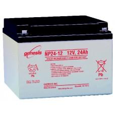 Genesis zselés akkumulátor 12V 24Ah NP24-12NFR
