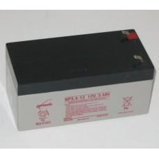 Genesis zselés akkumulátor 12V 3,4Ah NP3,4-12NFR