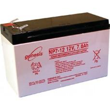 Genesis zselés akkumulátor 12V 7Ah NP-12NFR