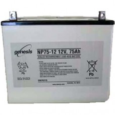 Genesis zselés akkumulátor 12V 75Ah NP75-12NFR
