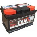 TAB autó akkumulátor 12V-75Ah jobb+