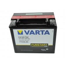 Motor akkumulátor Varta 12V-18Ah 518901 YTX20L-4