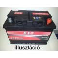 Autó akkumulátor A.B.S Universal Plus 12V-60Ah jobb+ 560600