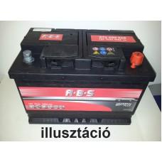 Autó akkumulátor A.B.S Asia 12V-45Ah jobb+ 545700