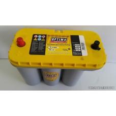 Autó akkumulátor Optima 12V-75Ah  Optima Yellow Top