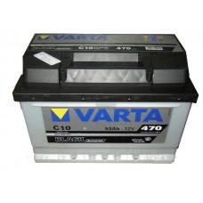 Autó akkumulátor Varta Black Dynamic 12V-53Ah jobb+ 553400